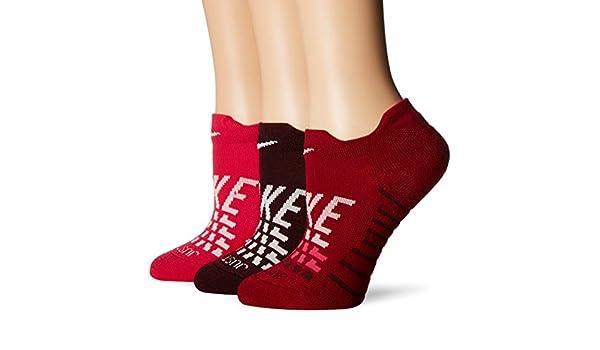 Nike Everyday MAX Cush Low 3PR-GFX - Calcetines, Mujer: Amazon.es: Deportes y aire libre