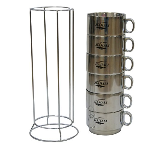 Treewalker Stainless Camping Coffee Mug/Drinking/Soup Cup 10