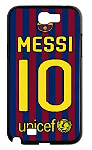 FC Lionel Messi Phone Shell Cover Case for Samsung Galaxy Note 2 N7100