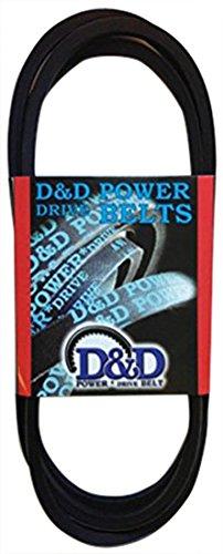D/&D PowerDrive 107095 Dodge Replacement Belt 319 Length C Rubber 319 Length OffRoad Belts 1 -Band
