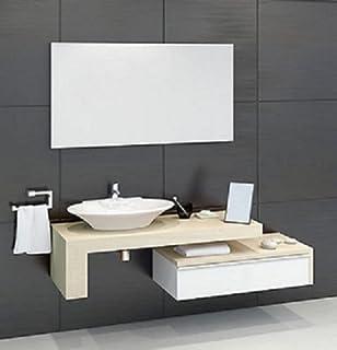 Mobile Arredo Bagno Mensola per Lavabo Piano d\'appoggio varie misure ...