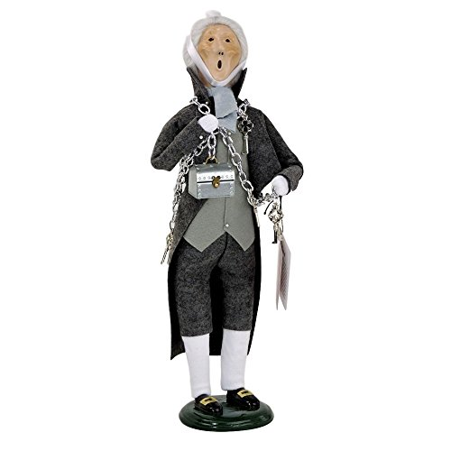 Byers Choice Christmas Figures (Byers' Choice Marley's Ghost from A Christmas Carol #205)
