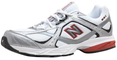 NEW BALANCE Chaussures de course pour homme mr661[Argenté/rouge]