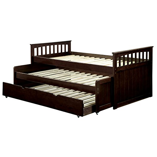 HOMES: Inside + Out IDF-1610 Mozart Nesting Daybed Day Beds, Twin