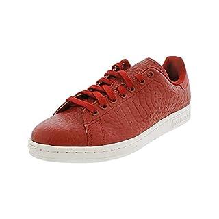 adidas Men's Originals Stan Smith Sneaker (10.5 D(M) US, Reptile Red)