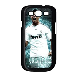Samsung Galaxy S3 9300 Cell Phone Case Black Cristiano Ronaldo weu