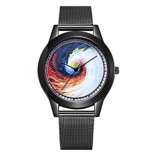 Garish❤️❤️ Unisex Universe Black Hole Print Wrist Watch for Men/Watches for Women Watch Jewelry,Quartz Watch ()
