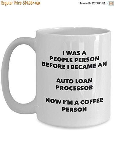 Boyce22Par Auto Loan Processor Coffee Person Mug Funny Tea Cocoa Cup Birthday Christmas Coffee Mug