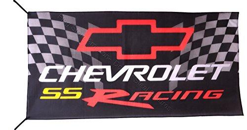 Chevrolet Racing - Beautiful Flag CHEVROLET SS RACING FLAG BANNER 3 X 5 ft
