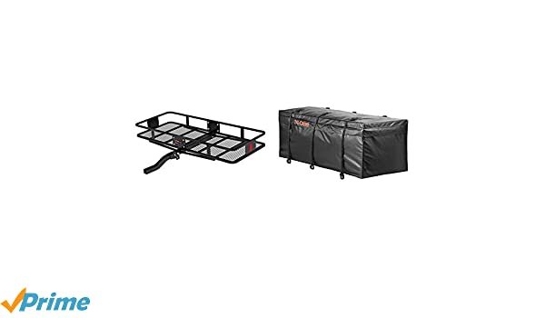 Capacity CURT 18153 Basket Trailer Hitch Cargo Carrier Fits 2-Inch Receiver 60-Inch x 23-1//2-Inch x 5-1//2-Inch 500 lbs