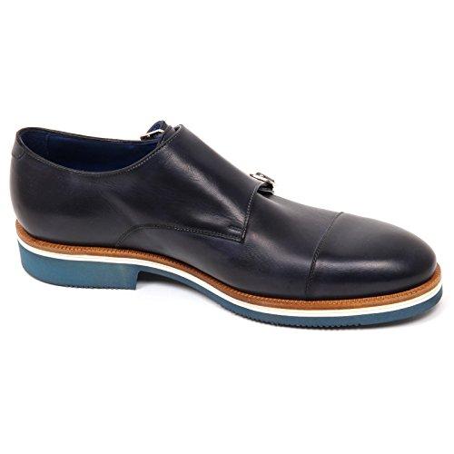 Blu Uomo Doppia Scarpe Venice Caracciolo Fibbia 1971 Shoe D0542 Scarpa Man qTgE78