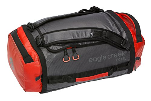 Eagle Creek Backpacker Cargo Hauler, 45L, Flame/Asphalt