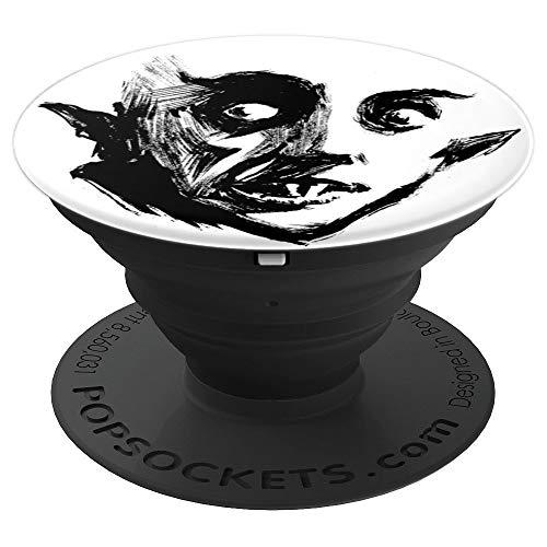 Nosferatu Vampire Halloween Monster Dracula Skate T-shirt PopSockets