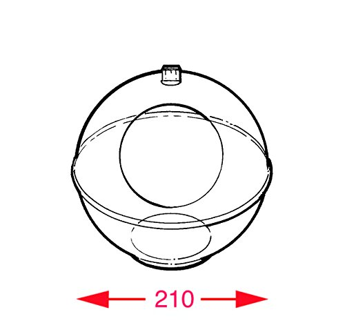 Clear Acrylic Display Sphere With Hand Hole