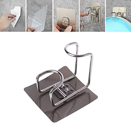 Ceramic Washbasin - Durable Stainless Steel Wash Basin Hook Hanging Rack Adhesive Hanger Load Bearing 8kg Bathroom - Sink Bath Ceramic Holder Wall Rack Basin Bathroom Steel Stand Shelf Hanger