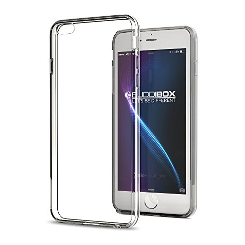 iPhone 6 Case, BUDDIBOX [ICE Series] Clear Scratch Resistant Drop Protective Case for Apple iPhone 6 & 6s, (Clear) ()