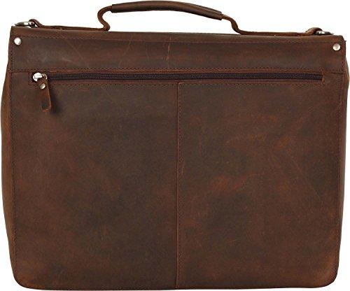Leonhard Heyden Salisbury 15'' Serviette compartiment pour ordinateur portable brun