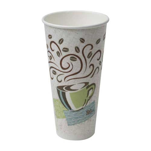 PerfecTouch 24 Ounce Insulated Paper Hot Cup -- 500 per case.