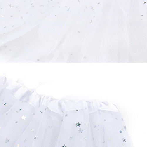 Blanc couleurs Mini varies courte tulle en Courte Gaze Jupe Femme adulte Tutu de Moonuy jupe tutu court ballet danse Robe jupe plisse Tutu CpBxwR