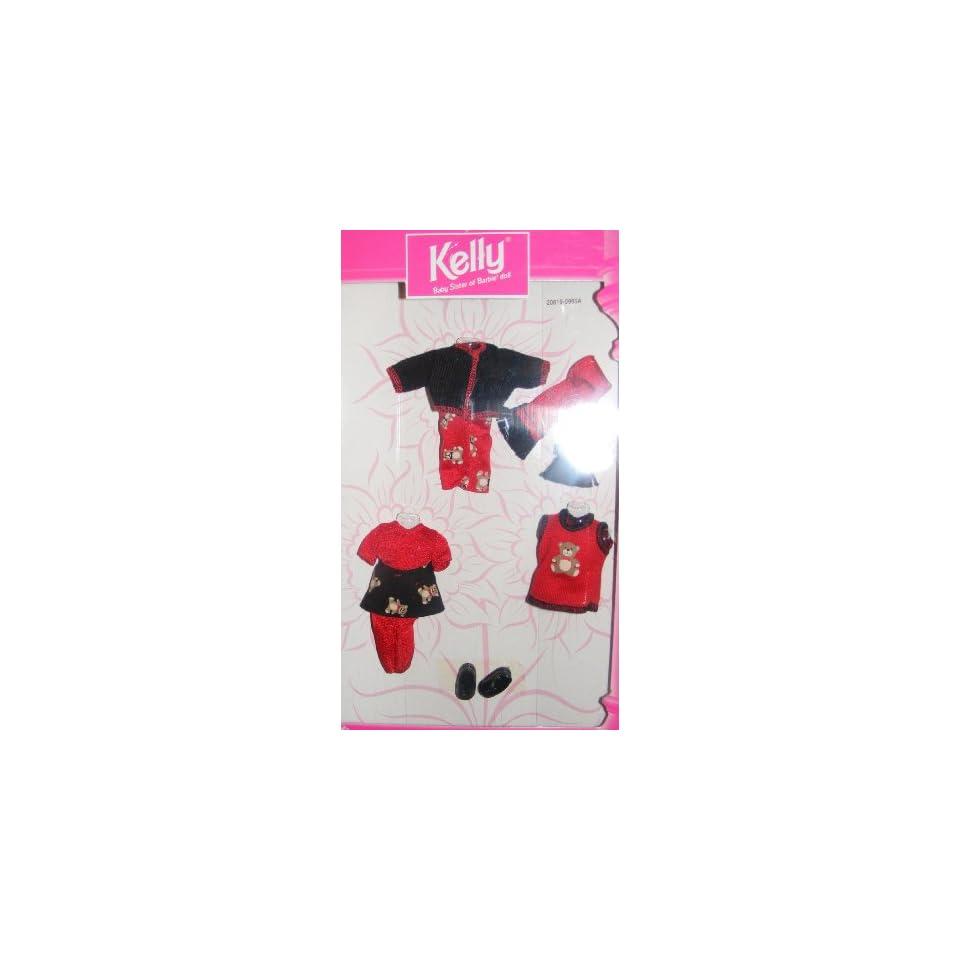 Kelly Doll Fashion Avenue Kelly (1998) Red & Black Teddy Bear Outfit