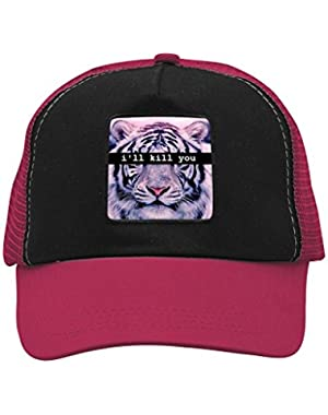 Unisex I'll Kill You Tiger Adjustable Classic Hiphop Hat Baseball Cap Snapback Dad Hat