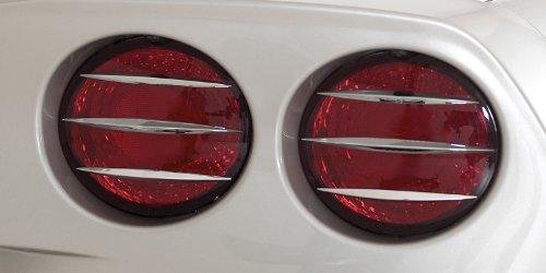 Corvette Taillight Spears 12 Pc. Billet Chrome : C6,Z06