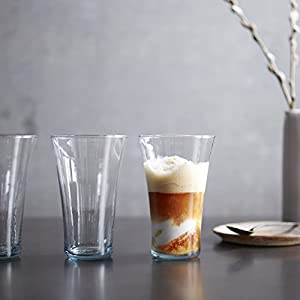 Prologue Luna Recycled Handblown Tumbler Glasses, Set of 6
