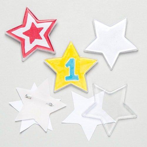 最高品質の 子供のためのベイカーロスデザインスターバッジ(10個入り) B07CS1XY2P B07CS1XY2P, KIARA Rose-STONE:370ab3b0 --- mcrisartesanato.com.br