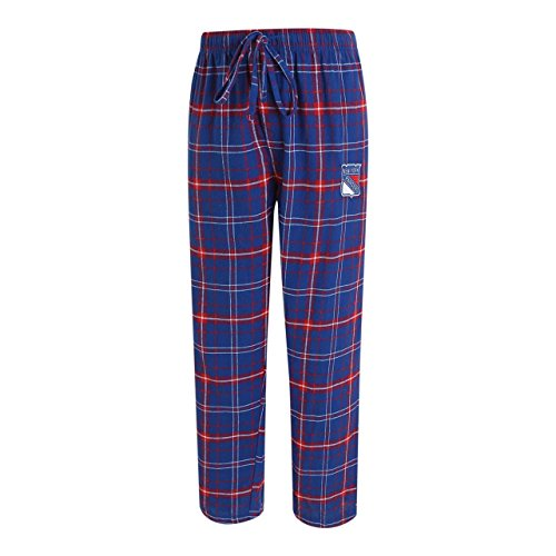 Concept Sport New York Rangers Adult NHL Ultimate Flannel Pants - Team Color, Medium by Concept Sport