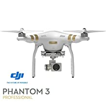 DJI Phantom 3 Professional Quadcopter 4K UHD Video Camera Drone (Renewed)