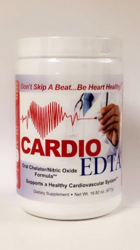 Cardio-Edta Nitric Oxide L Arginine 5000mg, L Citrulline 1000mg, CoQ-100 100mg + More by HerbShop.com