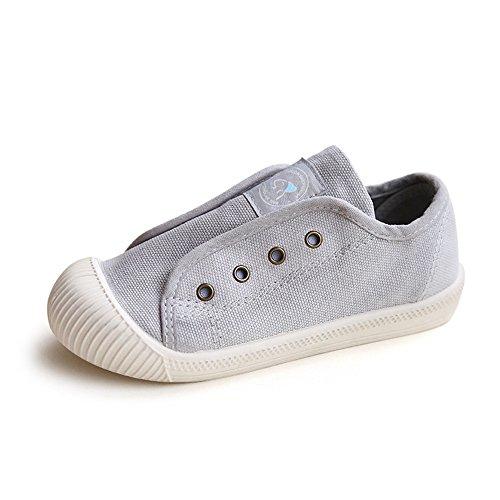 AILEESE - Alpargata Bebé-Niñas gris