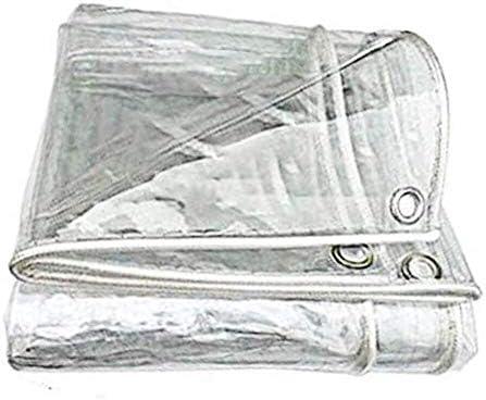 ZXF Hogar Lona Impermeable Lona Transparente a Prueba de Polvo Impermeable Cortina Impermeable pérgola Cubierta del Coche Espesado PVC Lona de camión Pesado (Size : 2X2.5M): Amazon.es: Hogar
