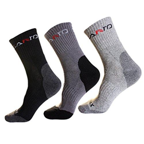 Noga Coolmax hombres 3 Pack Calcetines alpinismo ligeramente grueso absorba la humedad artrodesis calcetines deportes: Amazon.es: Deportes y aire libre