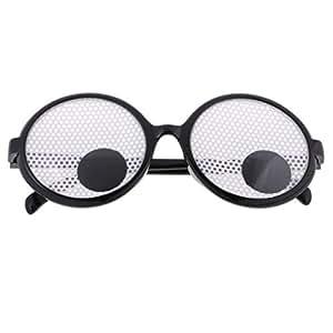 BAOBLADE Funny Googly Eyes Funny Joke Glasses Fancy Dress Party Novelty Toy