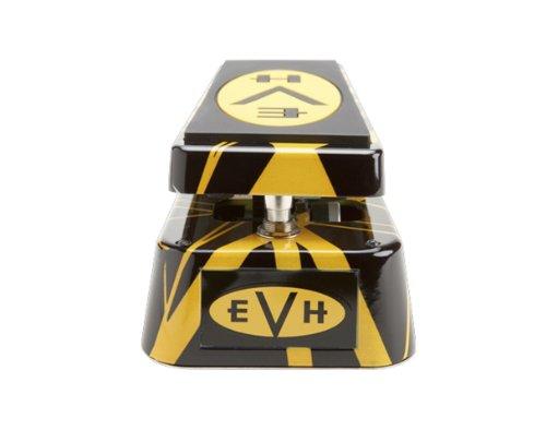 Dunlop EVH95 Eddie Van Halen Signature Cry Baby Wah Guitar Effects Pedal w/Bonus Dunlop PVP101 Pick-Pack (x12) 710137029613