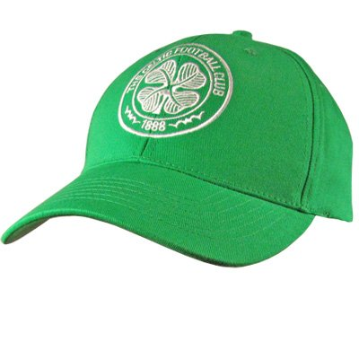 Celtic FC Authentic SPL Crest Baseball Cap Green