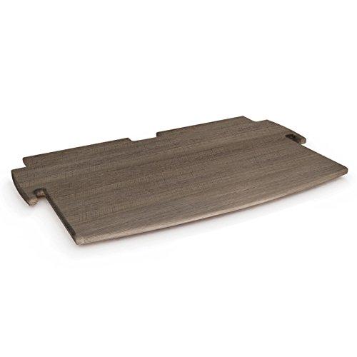 Legare Furniture Shelf - Legare Furniture, No Tools Assembly 12-Inch Spare Shelf, Grey Driftwood