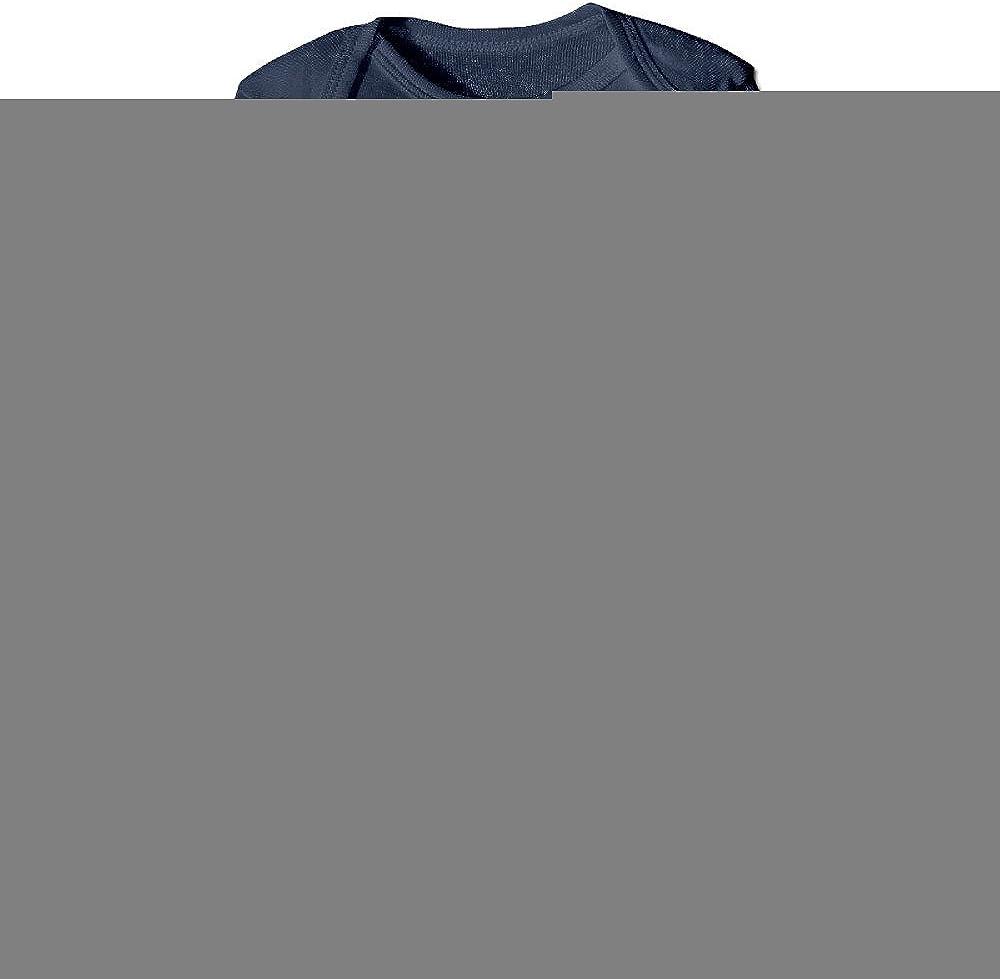 HYRONE Portal 2 Video Game Logo Baby Bodysuit Long Sleeve Romper Suits Navy