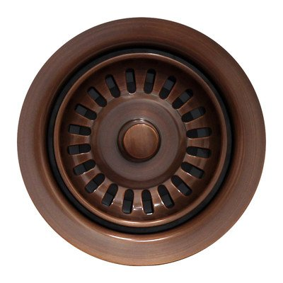 Waste Disposer Trim Finish: Antique Copper by Whitehaus Collection