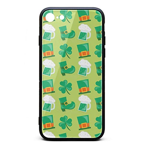 BoDu iPhone 6 Plus iPhone 6s Plus Case Happy St Patrick's Day TPU Protective Shockproof for iPhone 6 plus/6s Plus (Happy Day San Patrick)