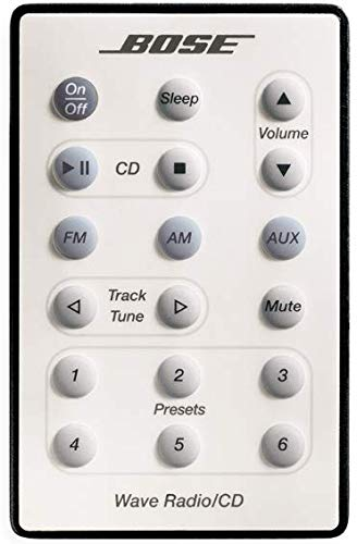 Bose Wave Radio/CD Remote Control for Model AWRC-1P, White