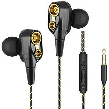 Amazon.com: Earphones Headphones with Microphone and Call