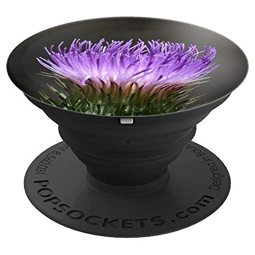 - Scottish Highland Thistle Flower Mountain Plant Natural Life - PopSockets Grip and Stand for Phones and Tablets