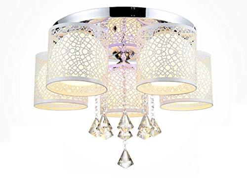 Chandelier Pendant Lighting Lights, Organic Contemporary Style Hanging Light, Brushed Nickel Finish 3 Lights ChandelierCasamotion Living Room Bedroom Restaurant