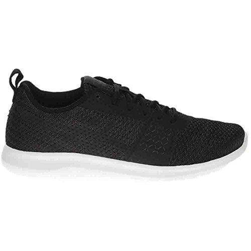 Asics Kanmei Negro Ocasional De Las Mujeres Zapatos / Negro / Blanco Salida de fábrica Liquidación de primera calidad Venta Entrega rápida Autorización 100% auténtica Envío gratuito Footaction q8hOMYPkM