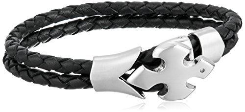 - Cold Steel Leather with Link Bracelet, 8