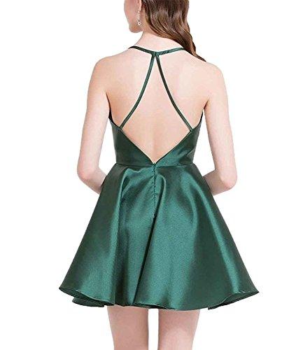 Robes Courtes De Retour À La Maison Des Femmes Besswedding 2018 Sexy Robes Formelles Backless Bwh002 Noir