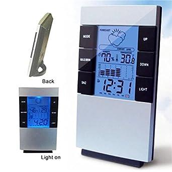 Amazon.com: NUEVO LCD Digital Temperatura Interior ...