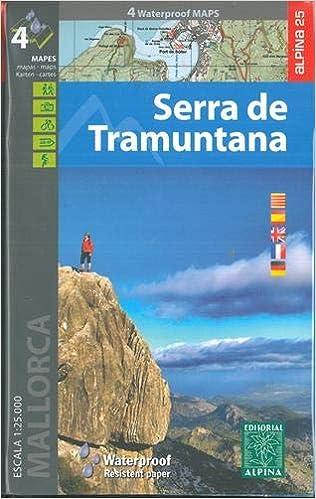 Serra de Tramuntana, mapas excursionistas impermeables. 4 ...
